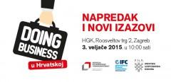"""Konferencija """"Doing Business u Hrvatskoj: Napredak i novi izazovi"""